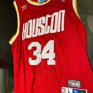 Houston Rockets Hakeem Olajuwon jersey